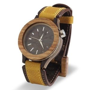 Other - Hand-Made Recycled Wood Artisan Wrist Watch